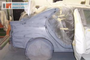 полная покраска кузова автомобиля